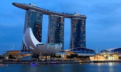 Art Science Museum, Marina Bay Sands Hotel, Singapur, Singapore