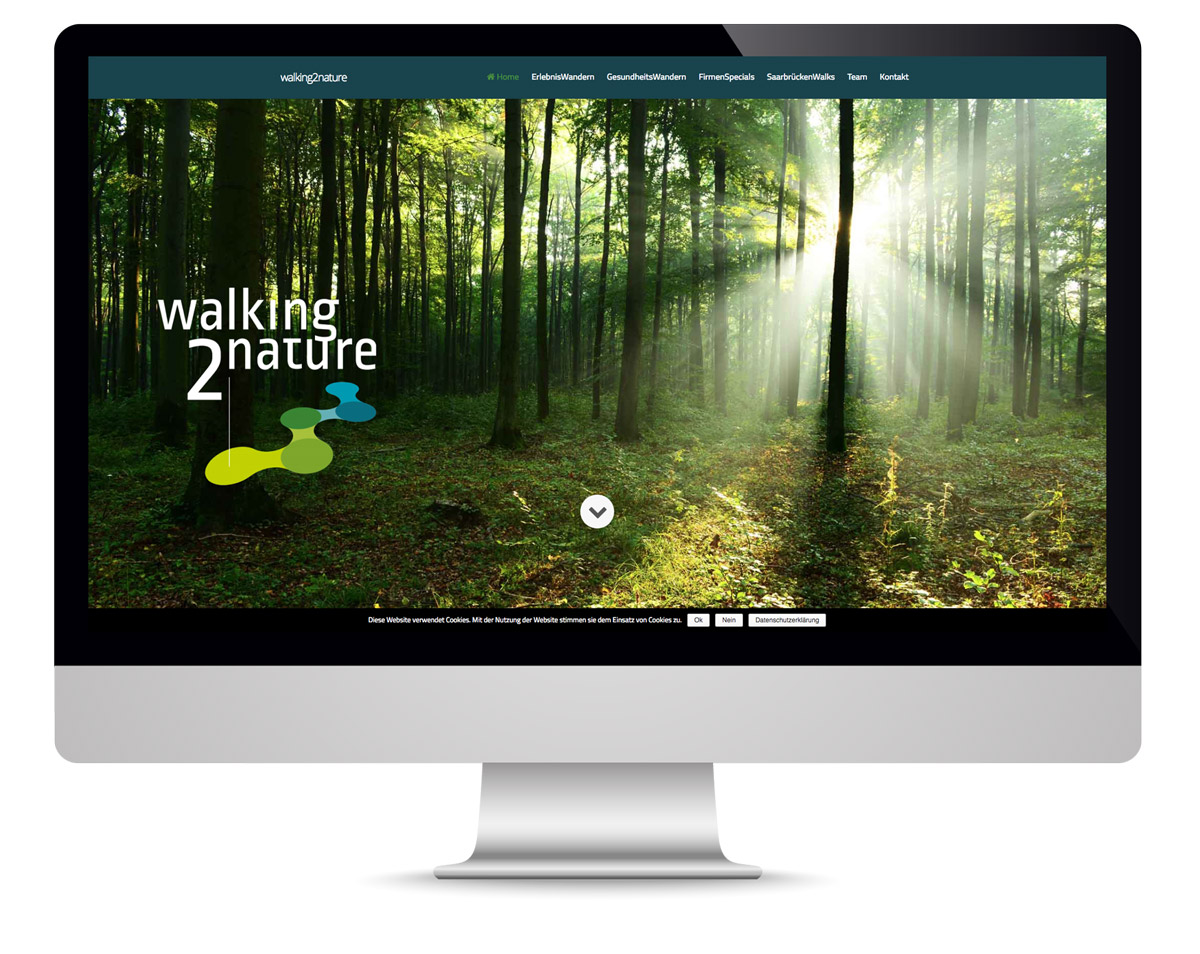 walking2nature desktop