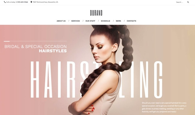 wordpress friseur