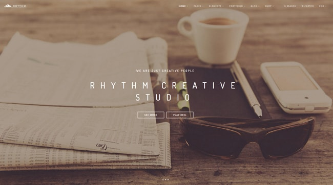wordpress themeforest creativ