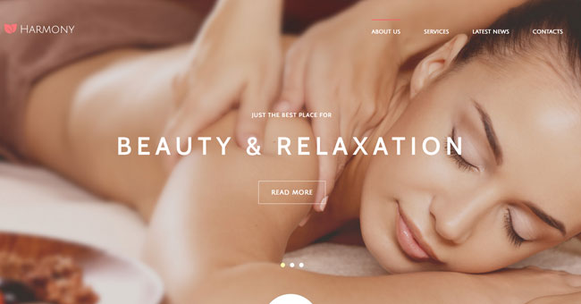 joomla beauty and relax